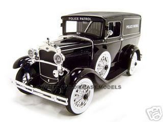 diecastmodelswholesale - 1931 Ford Panel Police Wagon 1/18 Diecast Model Car by Signature Models, $51.99 (http://www.diecastmodelswholesale.com/1931-ford-panel-police-wagon-1-18-diecast-model-car-by-signature-models/)