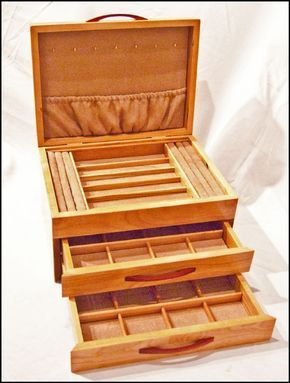 Two Drawer Mission Style Jewelry Box desk Pinterest Drawers