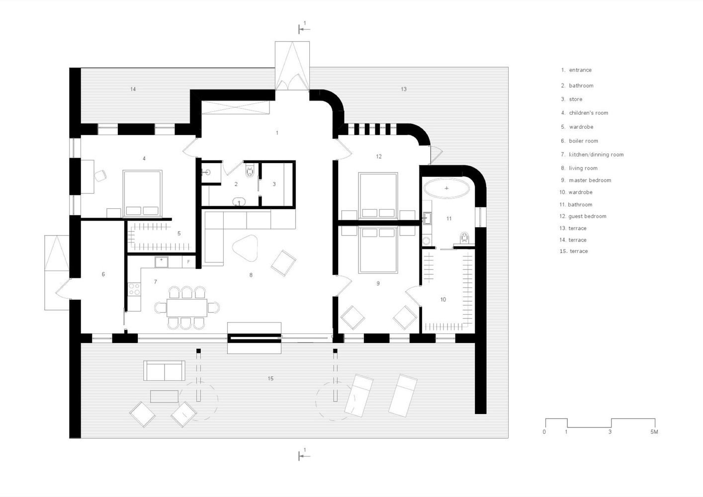 Gallery Of House For Weekends Sbm Studio 4 Maison Plans