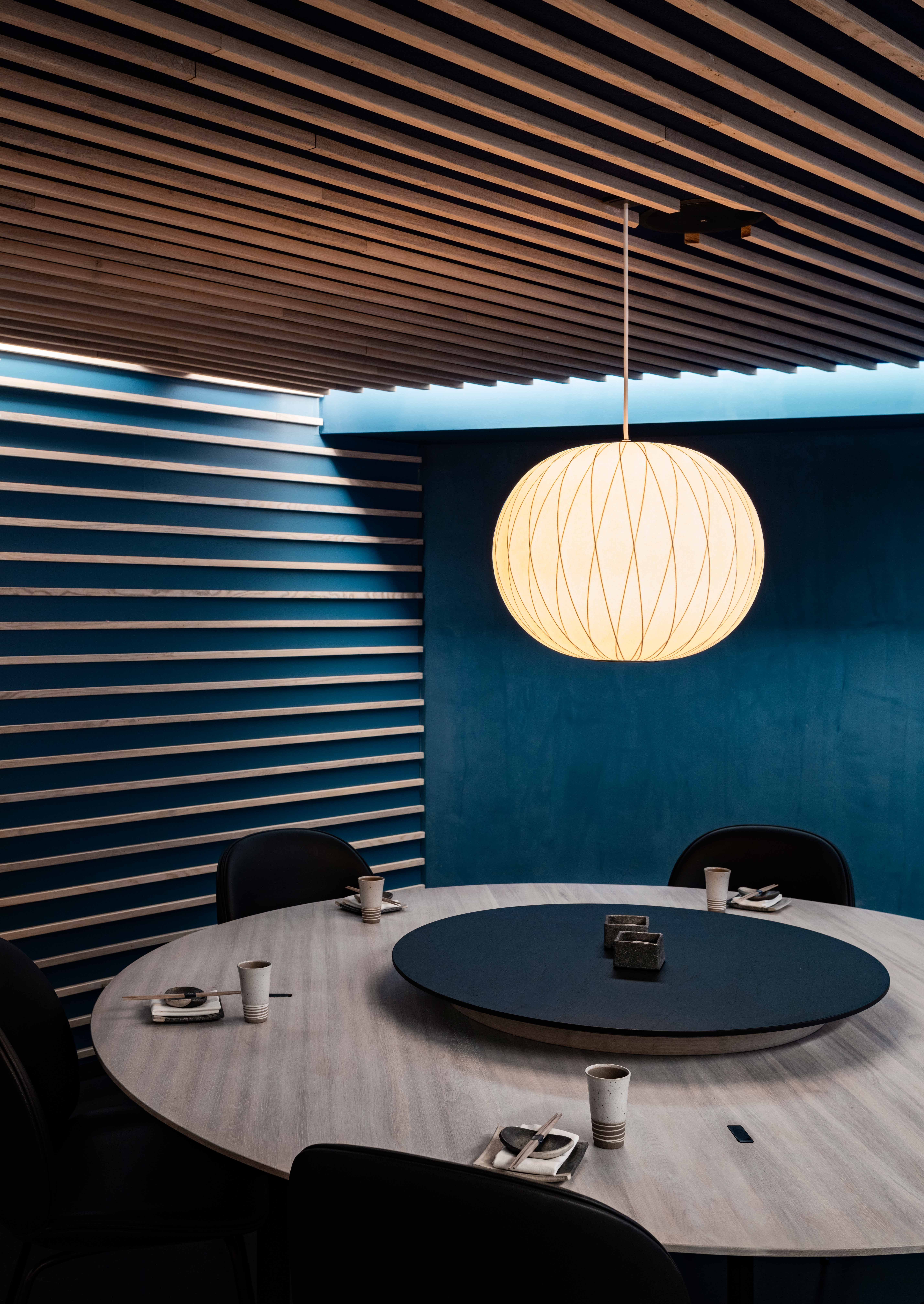 For The New Karma Sushi Restaurant In Aarhus, The Interior Design Department  Of Henning Larsen Architects Has Created An Interior Design With An Atu2026