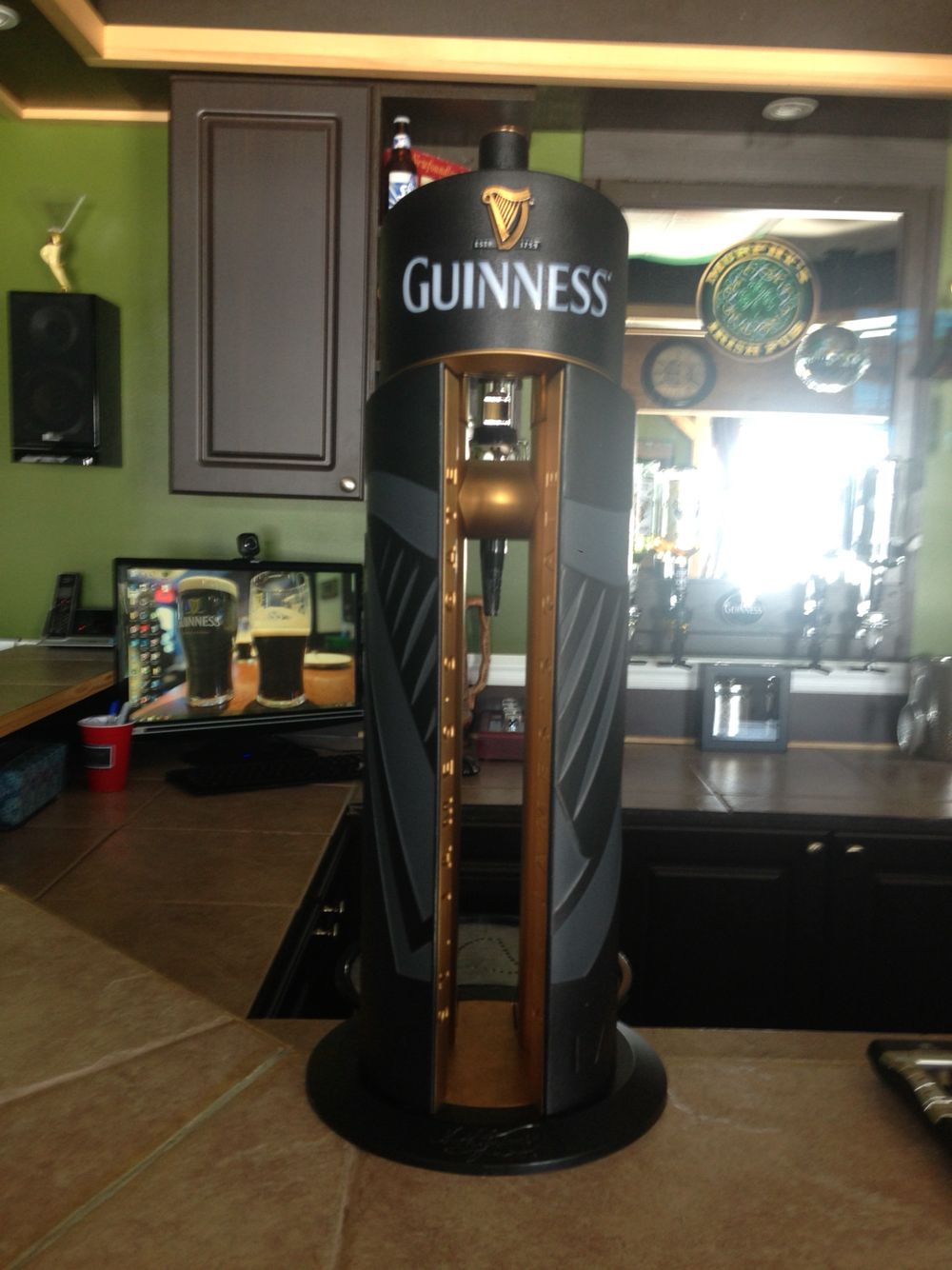 Guinness Tap In Home Pub