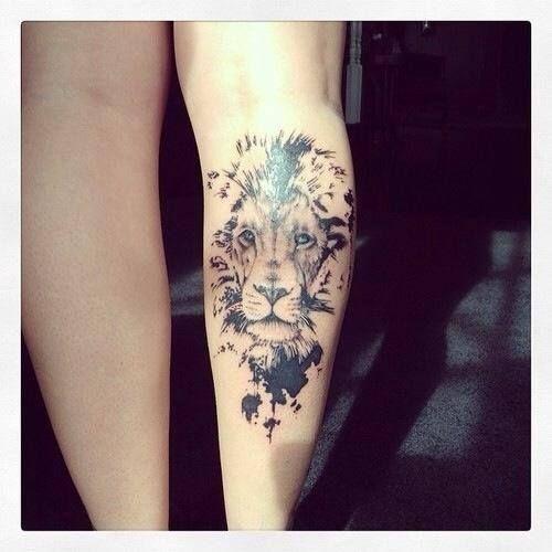 Tatuagem Leão, Tatoo E