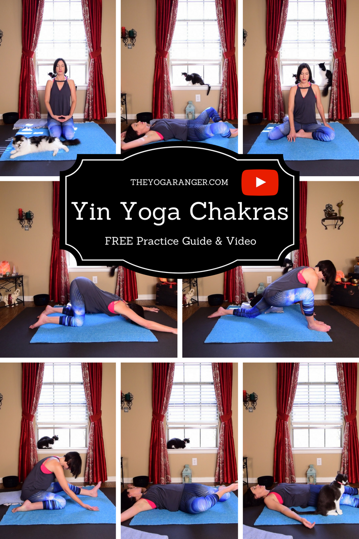 Yin Yoga Sequence For The Chakras
