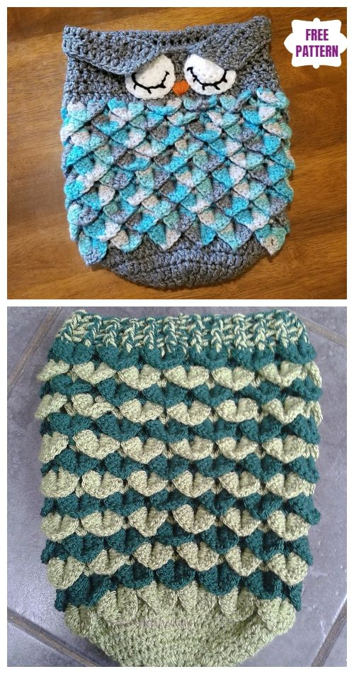 10 DIY Crochet Snuggle Cocoons Free Crochet Patterns & Paid #crochetbabycocoon