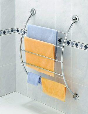 Afbeeldingsresultaat voor handdoekenrek badkamer zonder boren ...