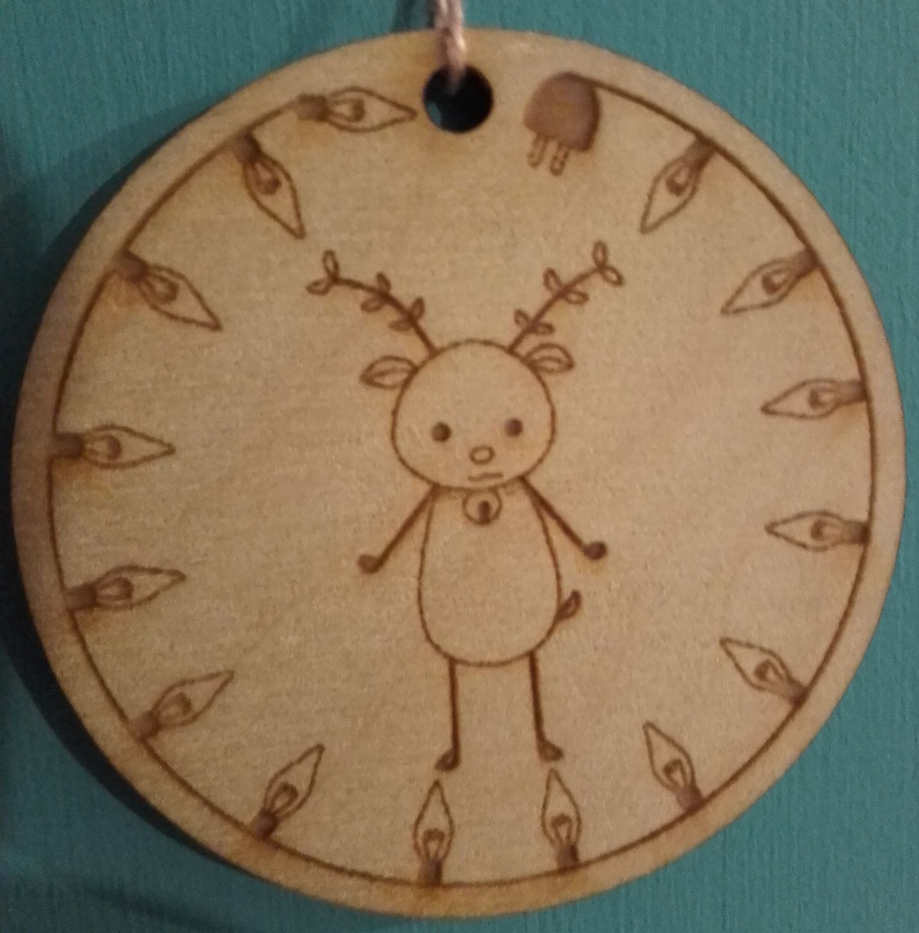 wooden reindeer http://malawielkaciutwiedzma.blogspot.com