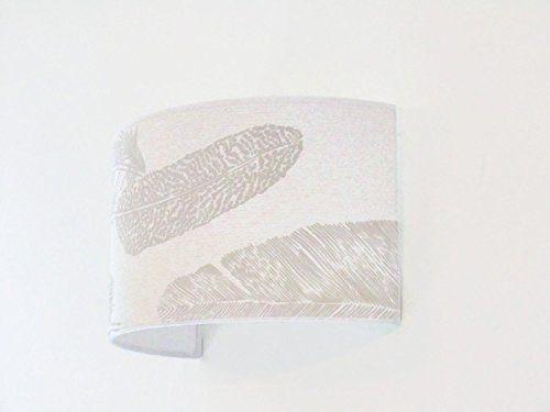 Applique murale plumes bandeau demi cylindre luminaire lune