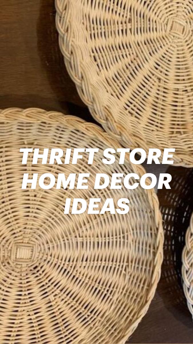 DIY THRIFT STORE HOME DECOR IDEAS