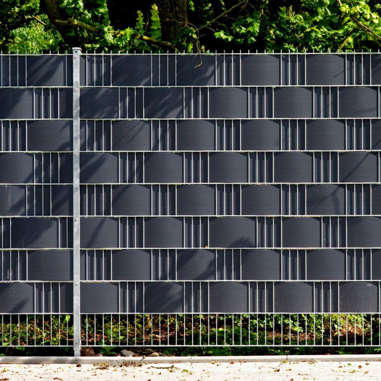 Sichtschutz Am Zaun Sofort Blickdicht Doppelstabmattenzaun Sichtschutz Garten Zaun Sichtschutz Garten Gunstig