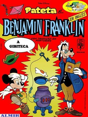 Pateta é... Benjamin Franklin (Em Inglês - 04)
