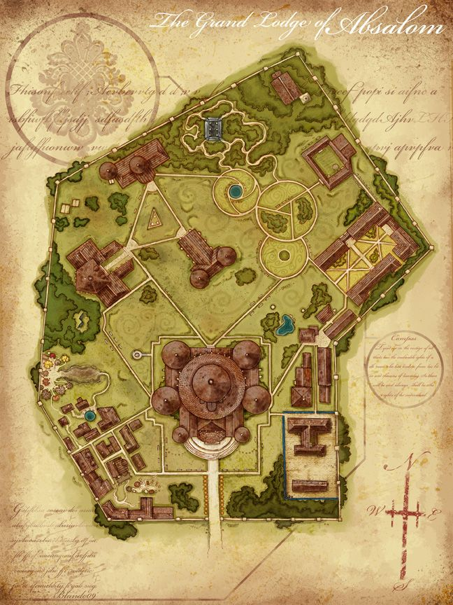 University -- fantasy cartography by Jared Blando Pretty good map of ...