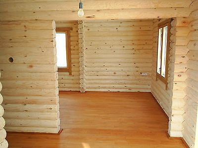 LOG CABIN HOME Shell Kit Logs 1308 Sq.ft 36u0027 X 24u0027 With