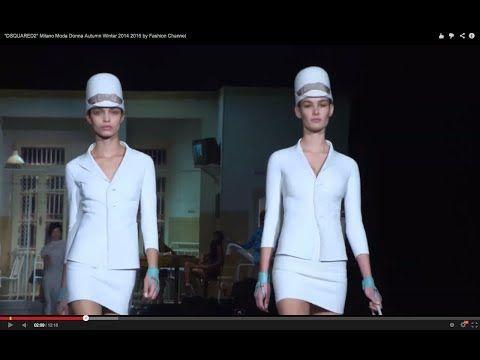 "▶ ""DSQUARED2"" Milano Moda Donna Autumn Winter 2014 2015 by Fashion Channel - YouTube"