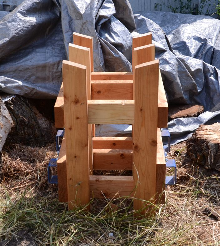 Log Projects: New Chainsaw Sawbuck.