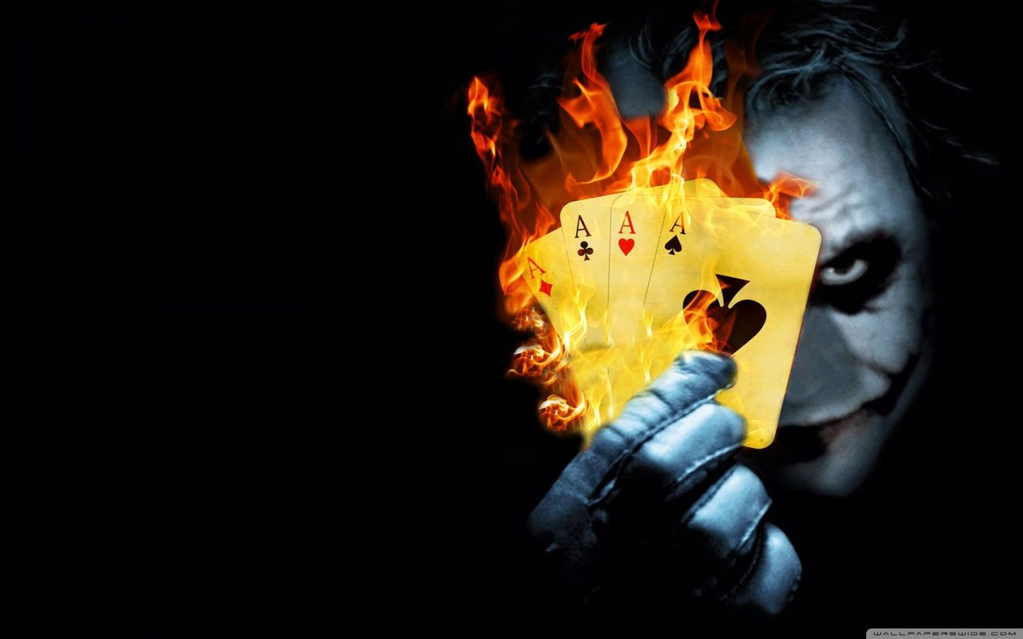 Burning Poker Joker Hd Desktop Wallpaper High Definition Joker Hd Wallpaper Batman Joker Wallpaper Joker Images