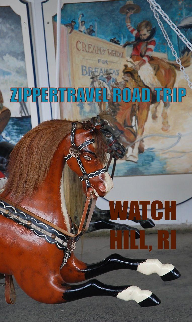 Historic carousel in Watch Hill, RI Zippertravel.com Digital Edition