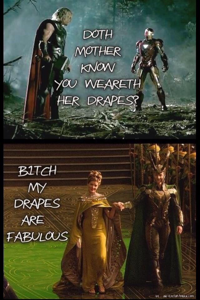 Mother's Drapes!  LOL!!!