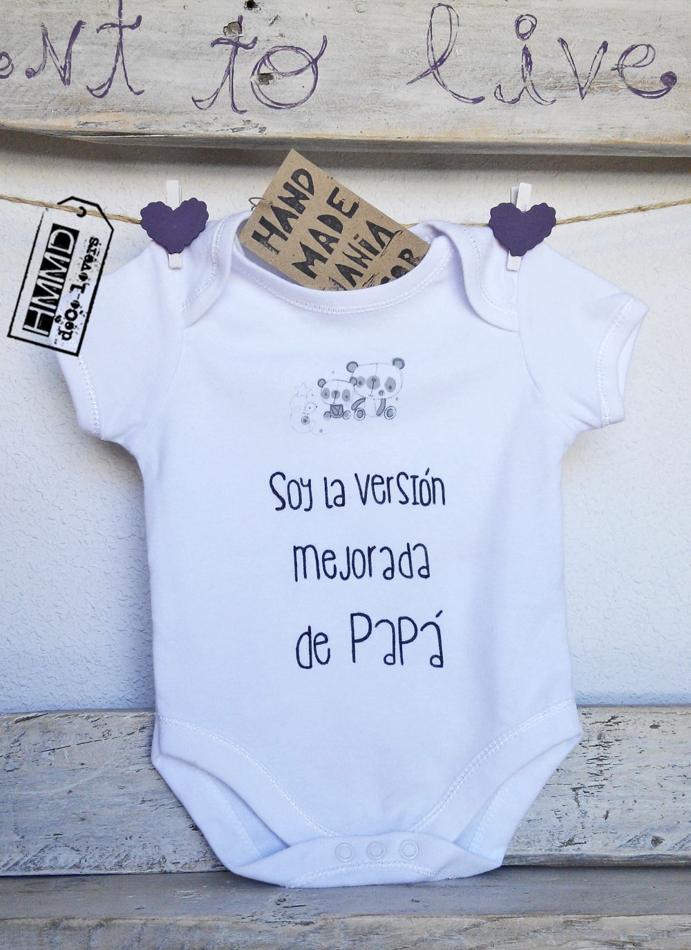 Nuevos bodies y camisetas hmmd new hmmd body suits and t - Regalos para padres y madres ...