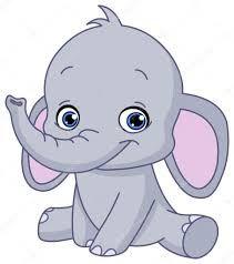 Resultado De Imagen Para Elefante Bebe En Caricatura Imagen Elefante Baby Elephant Clipart Bebe Clipart