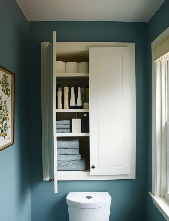 Estanterías y armarios para el cuarto de baño | Pinterest