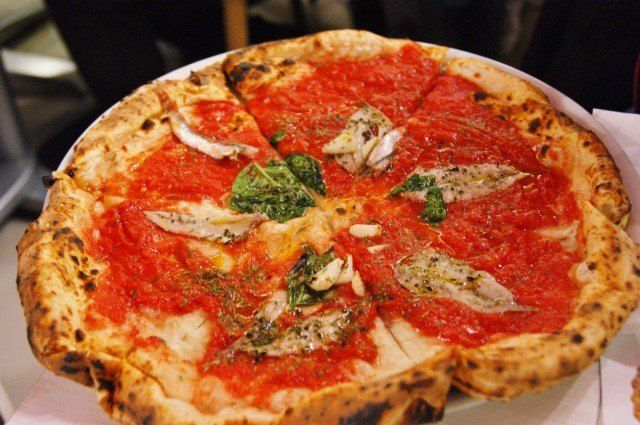 Pizzeria Salvo: la marinara,  Pizzeria Salvo: la marinara,