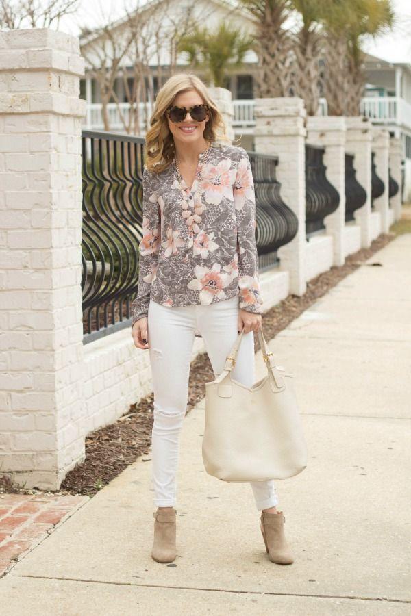 GiGi New York   Ivory Olivia Shopper Tote  Life with Emily Fashion Blog