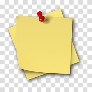 Yellow Papers And Red Tack Post It Note Salamah College Paper Sticker Sticky Note Transparent Background Png Clip Clip Art Sticker Paper Yellow Sticky Notes