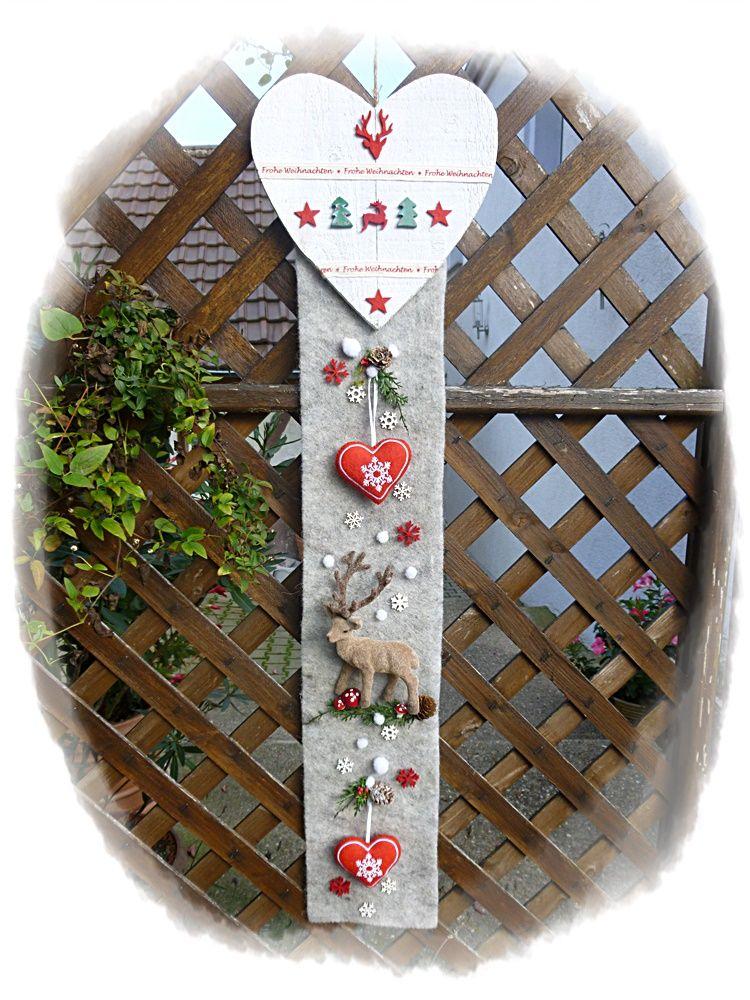 überraschend Weihnachtlicher Tuerschmuck Part - 6: weihnachtlicher Türschmuck