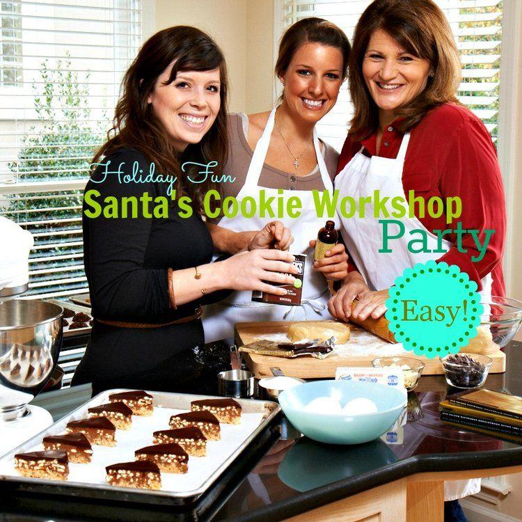 Christmas Party Ideas 2014 Part - 41: Christmas Party Ideas For Kids Cookie Workshop For Santa Martie Duncan.jpg