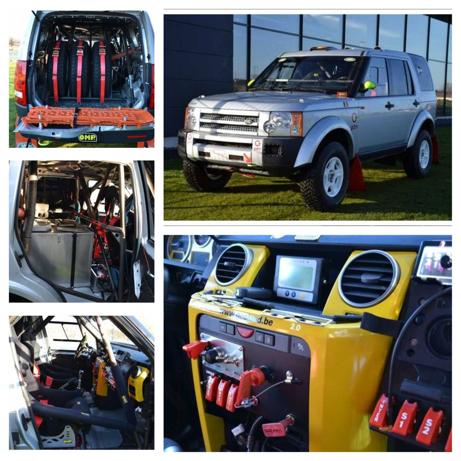 Land Rover LR3 FIA Race Rally Prepared In Belgium!