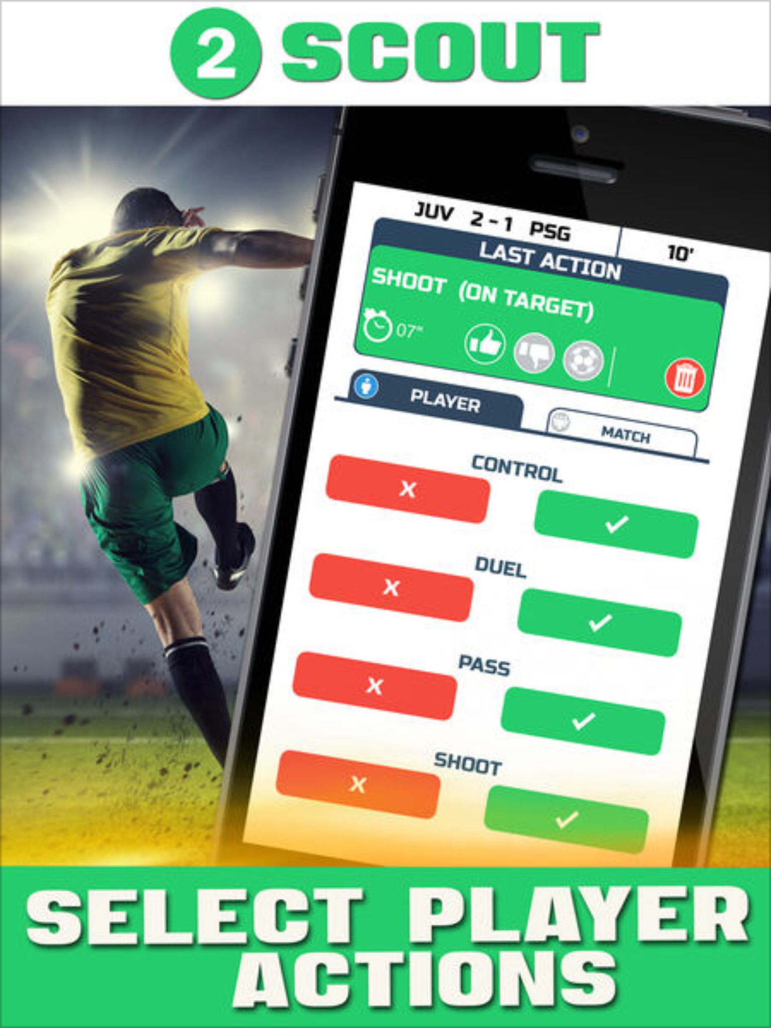 AWESOME FREE SOCCER APP!! Mobile App for soccer scouting