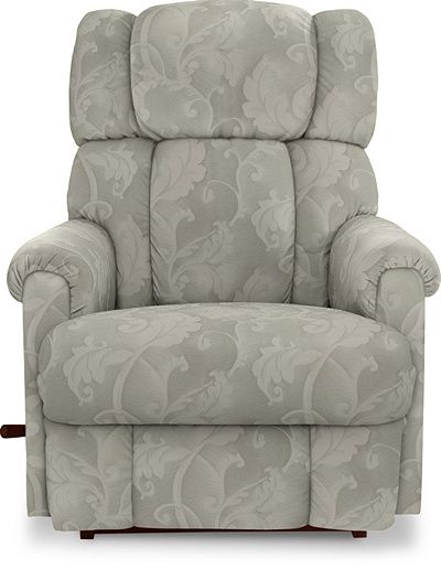 Pinnacle Reclina Rocker Recliner By La Z Boy Sterling Fabric
