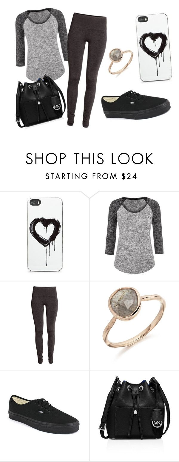"""""""Untitled #145"""" by miss22salvatore ❤ liked on Polyvore featuring Zero Gravity, maurices, H&M, Vans and MICHAEL Michael Kors"""