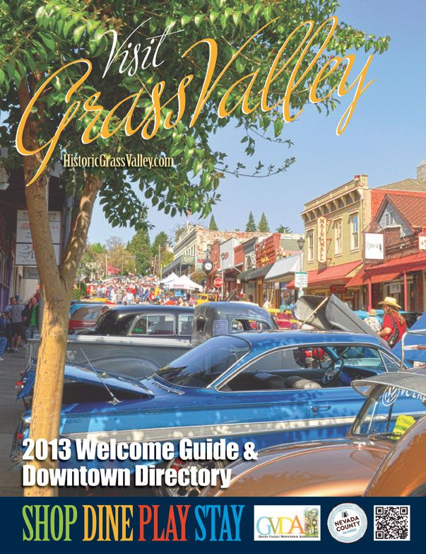 Downtown Classic Coastal Home: Grass Valley Downtown Association