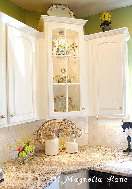 Tracey S Fabulous Kitchen Makeover With 11 Magnolia Lane Kitchen Remodel Corner Kitchen Cabinet Kitchen Design