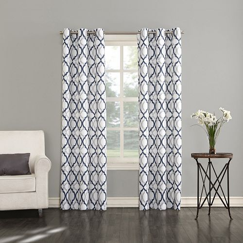 The Big OneR Brandon White Window Treatments Curtains From Kohls Look At