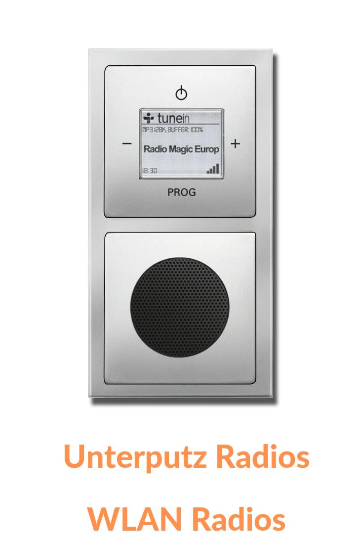Unterputzradio Wlan Radio Unterputzradio Wlan Radios