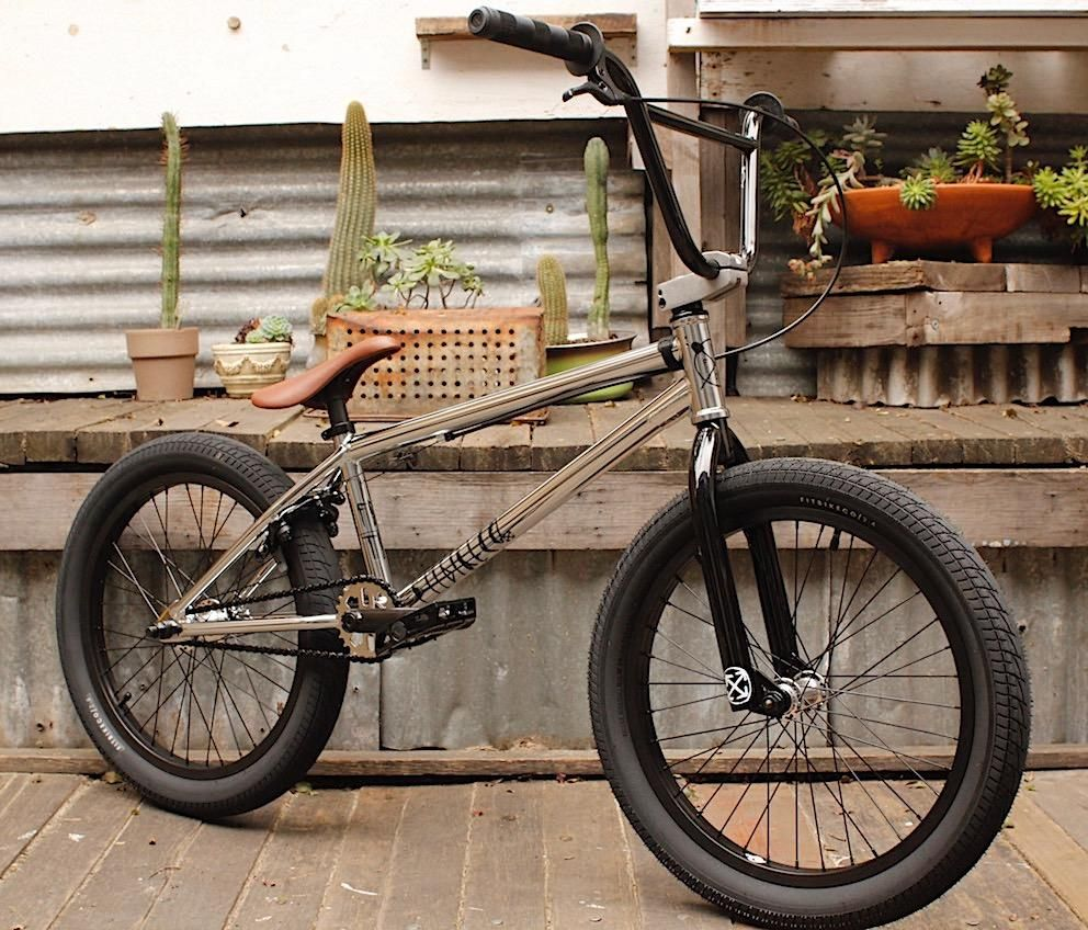 Fit Bike Co Trl Chrome 2018 Bmx Freestyle Bmx Shop Gt Bmx