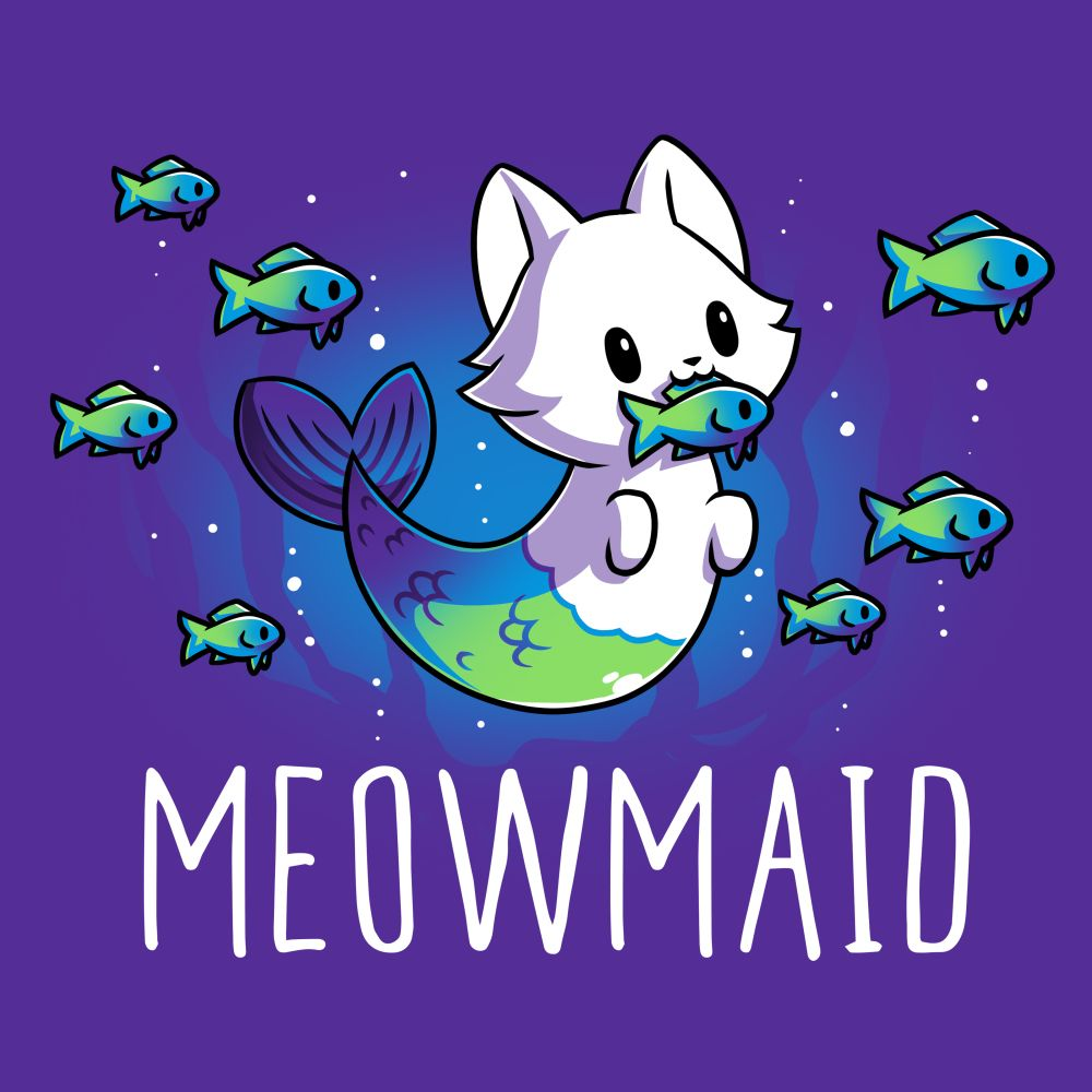 Meowmaid | Funny, cute & nerdy shirts