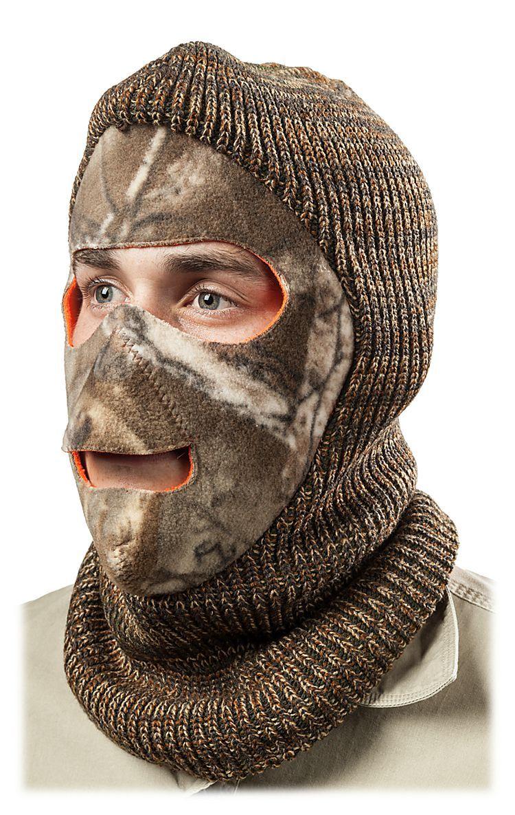 RedHead Reversible Fleece Face Mask for Men Face mask