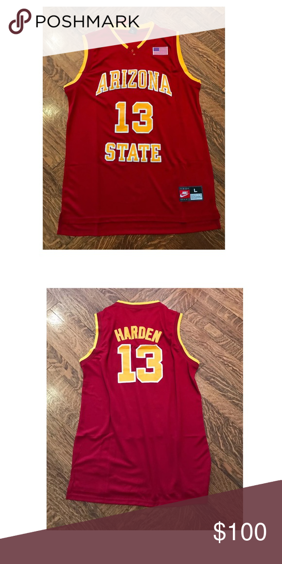 online store b7412 91eb6 NBA Mens James Harden College Jersey Size S - L Sizes Small ...