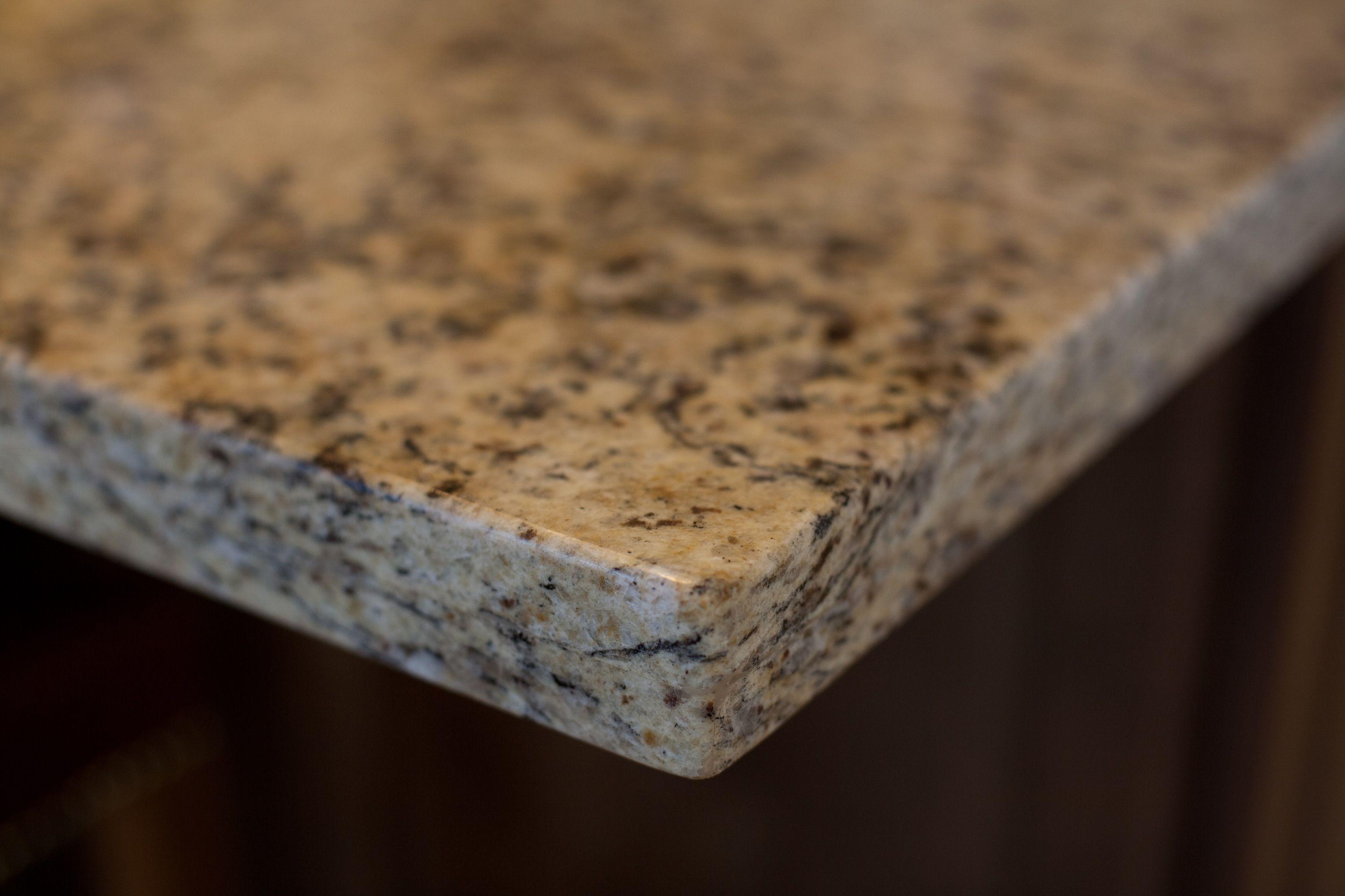GRANITE SLAB KITCHEN COUNTERTOP U0026 BACKSPLASH  Kitchens Feature A Sleek Granite  Countertop With Stylish 1 Square Edge Detail. A Back Splash With Full  Height ...