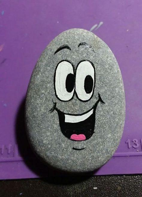 Basteln mit Steinen, um mit Kindern zu tun #bastelnmitsteinen