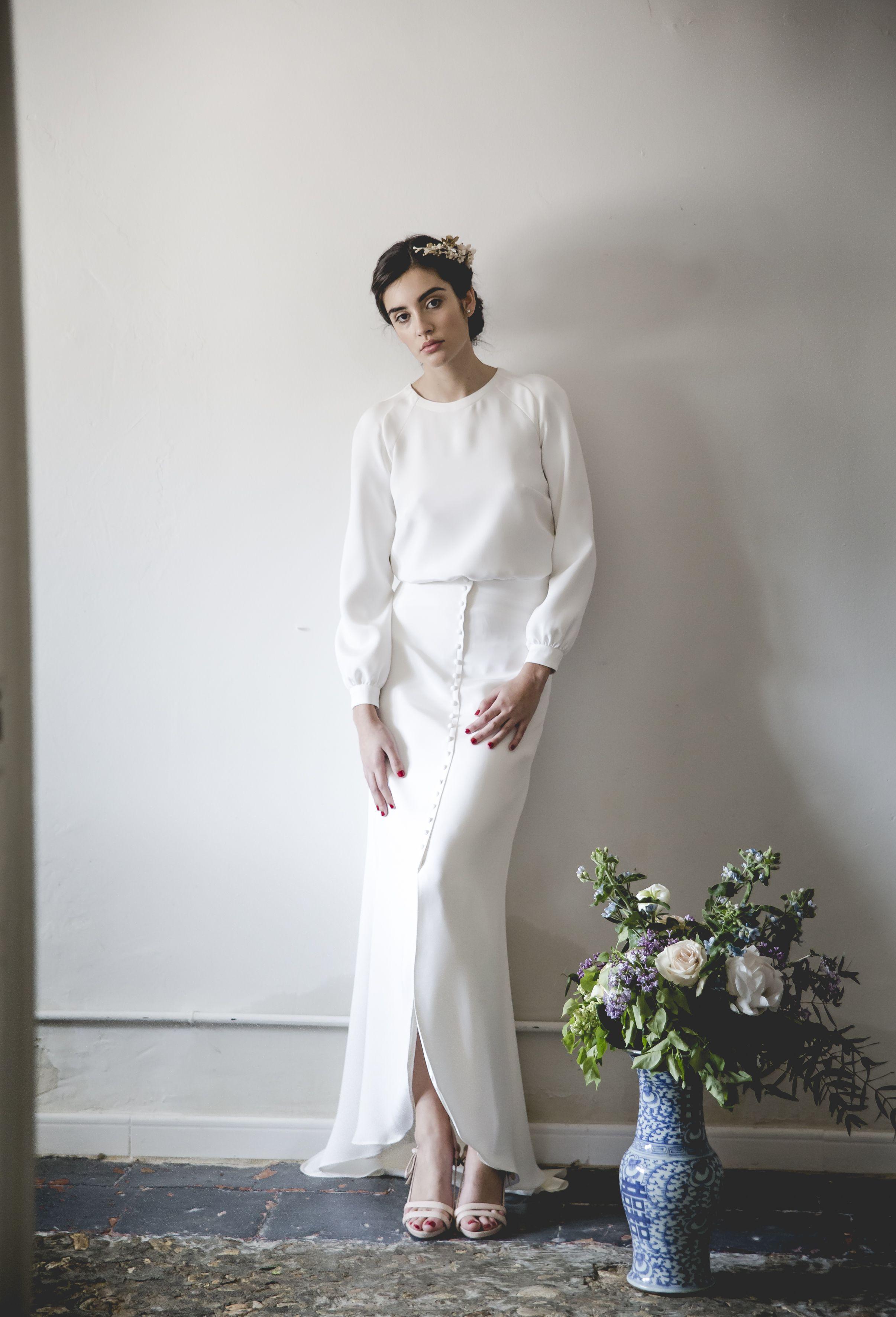 Wallis simpson wedding dress  Mélancolieu de Alejandra Svarc vestidos de novia románticos y