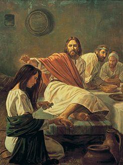 Mary Anoints the Feet of Christ - John 12