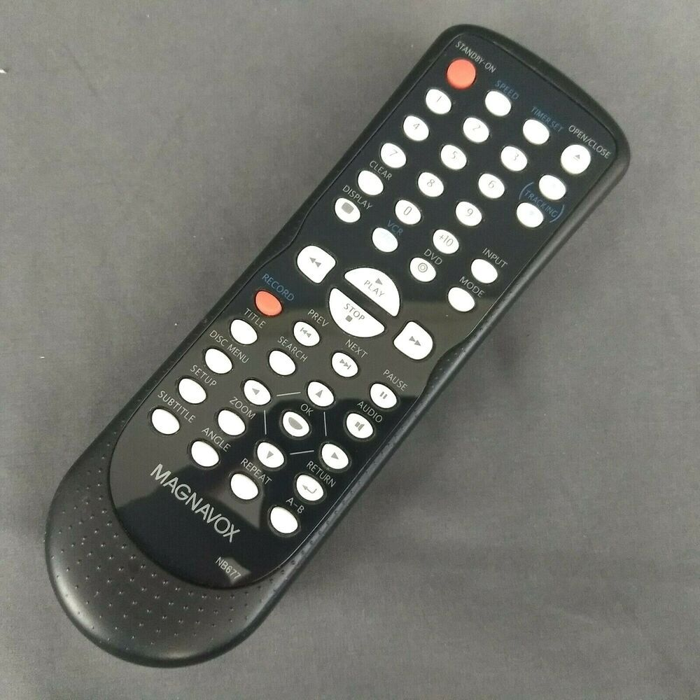 Genuine Magnavox NB677 Remote Control DVD/VCR Combo DV220MW9