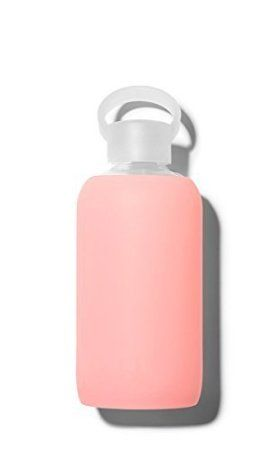 bkr? bottle : bubbly glass water bottle + soft silicone sleeve (Gloss) by bkr