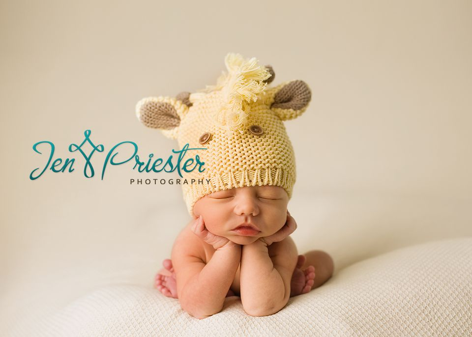 Newborn Knit Hats For Photography