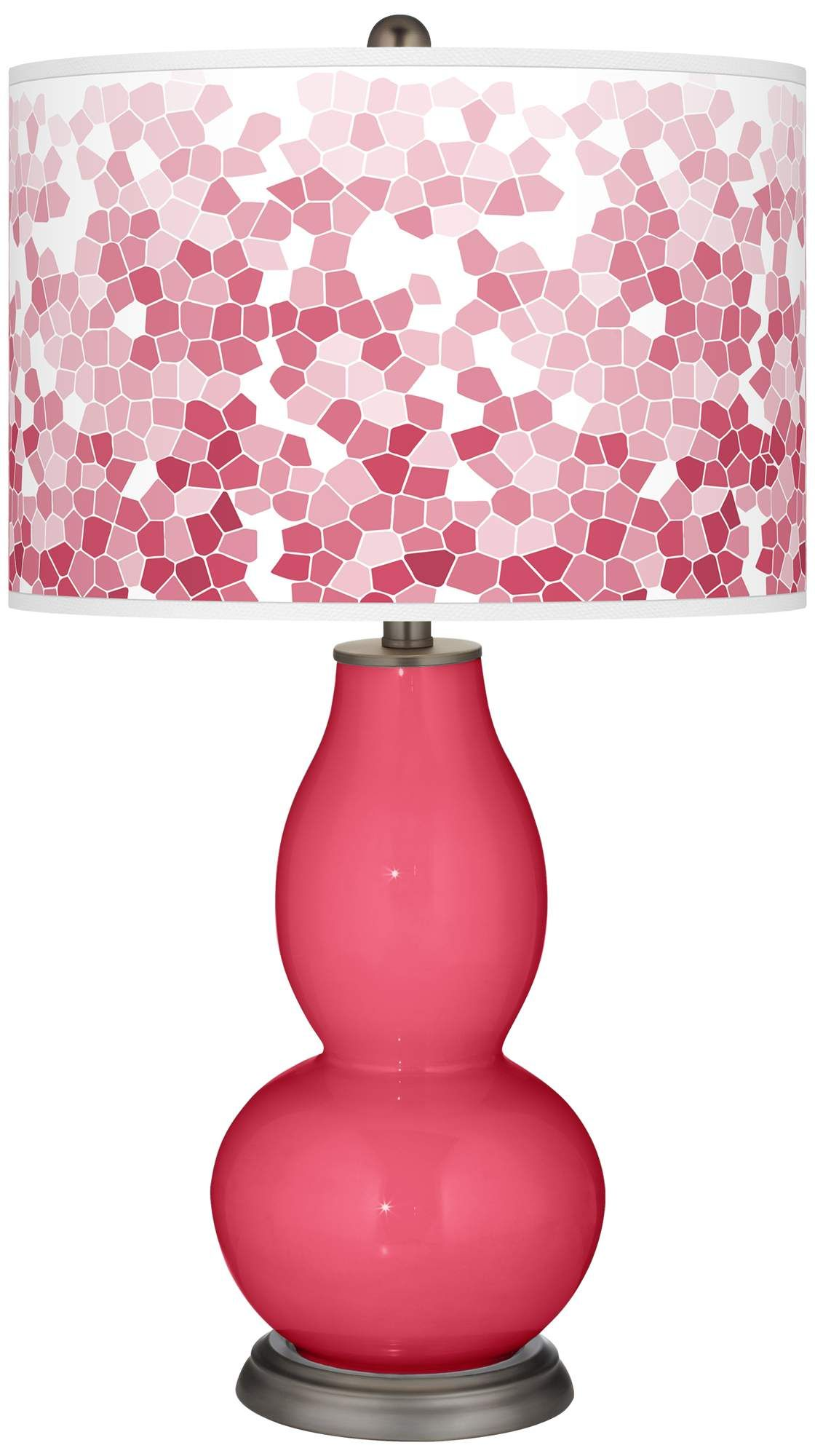 Signature Design By Ashley L801584 Acrylic Table Lamp Hot Pink Silver Finish You Can Find Out More Details At The Link Of Crystal Table Lamps Lamp Table Lamp