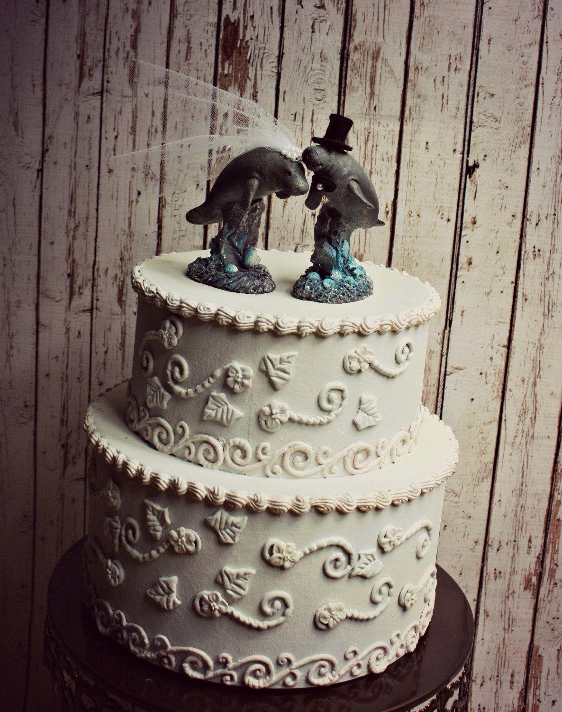 Seal Sea Lion Ocean Beach Bride Groom Beach Wedding Animal Wedding Cake Topper Gray Seal K Animal Cake Toppers Wedding Wedding Cake Toppers Beach Wedding Groom